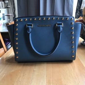 Medium Michael Kors Studded Selma Bag